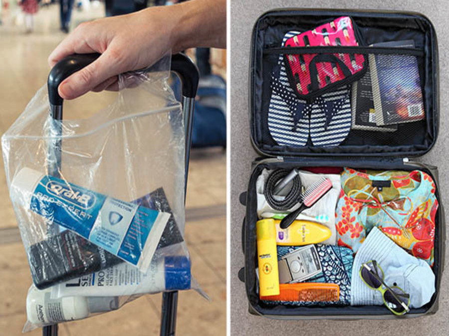 Hành lý xách tay được mang những gì?