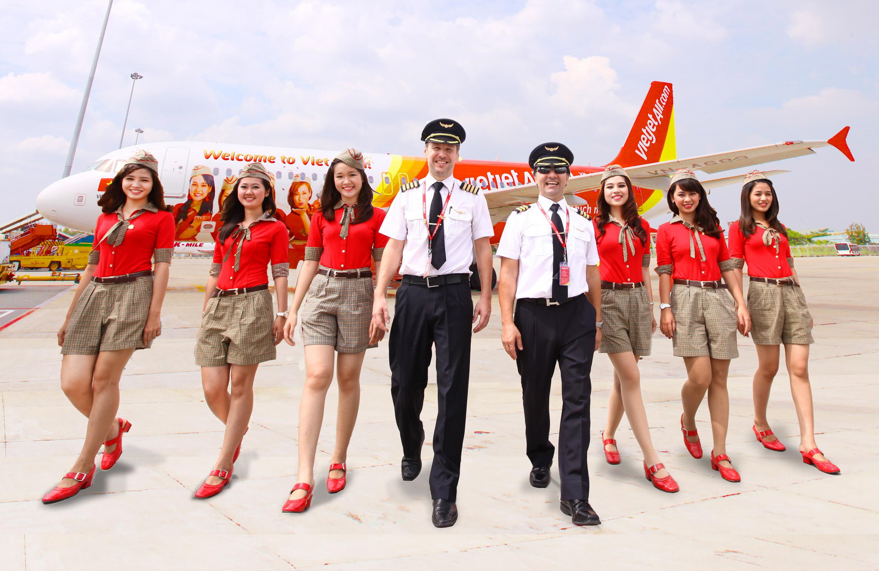 Đại lý vé máy bay Vietjet quận 1