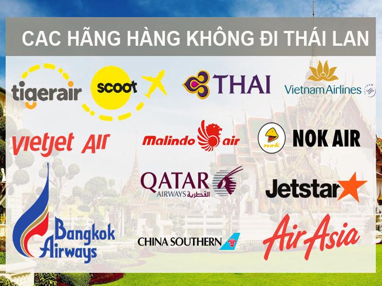 Các hãng hàng không đi Thái Lan