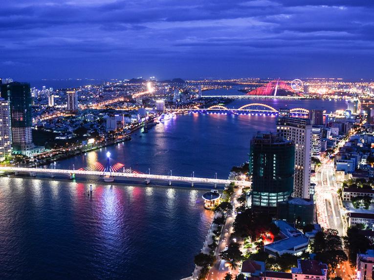 Toàn cảnh Đà Nẵng về đêm