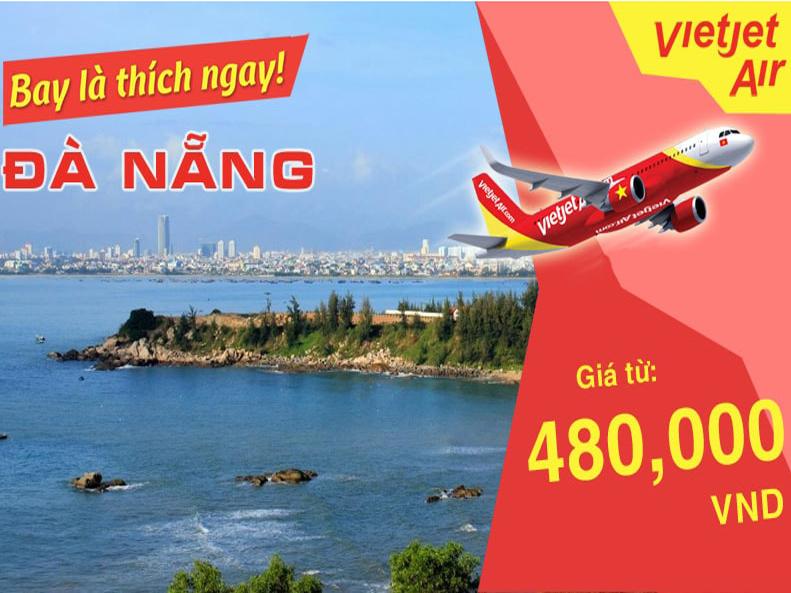 Vé máy bay giá rẻ Vietjet đi Đà Nẵng