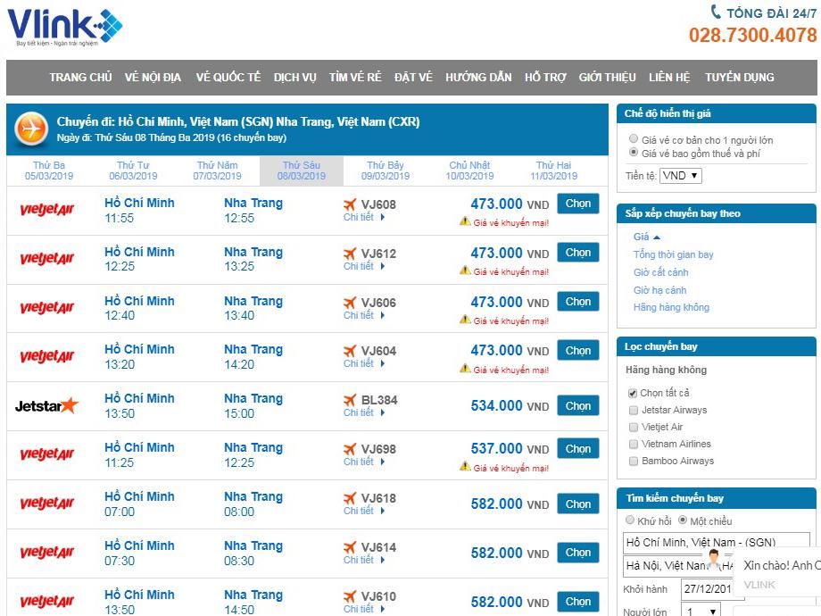 Vé máy bay giá rẻ Vietjet đi Nha Trang