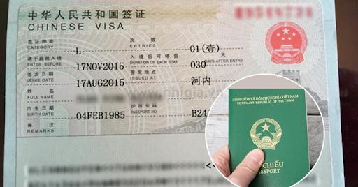 Điều kiện và các thủ tục cần thiết làm visa đi Trung Quốc