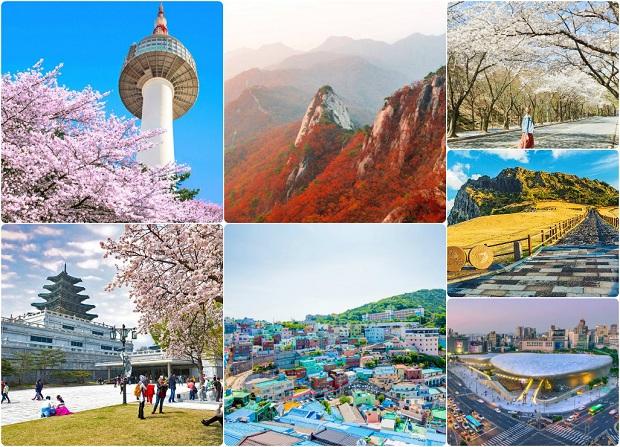 Đặt vé máy bay đi Hàn Quốc giá rẻ 2020