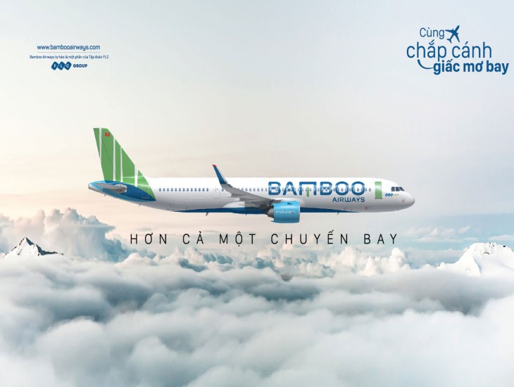 Đặt vé máy bay Bamboo Airways giá rẻ